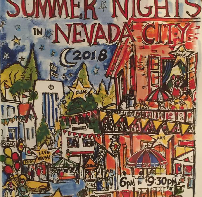 Nevada City Summer Nights – July 25th 2018